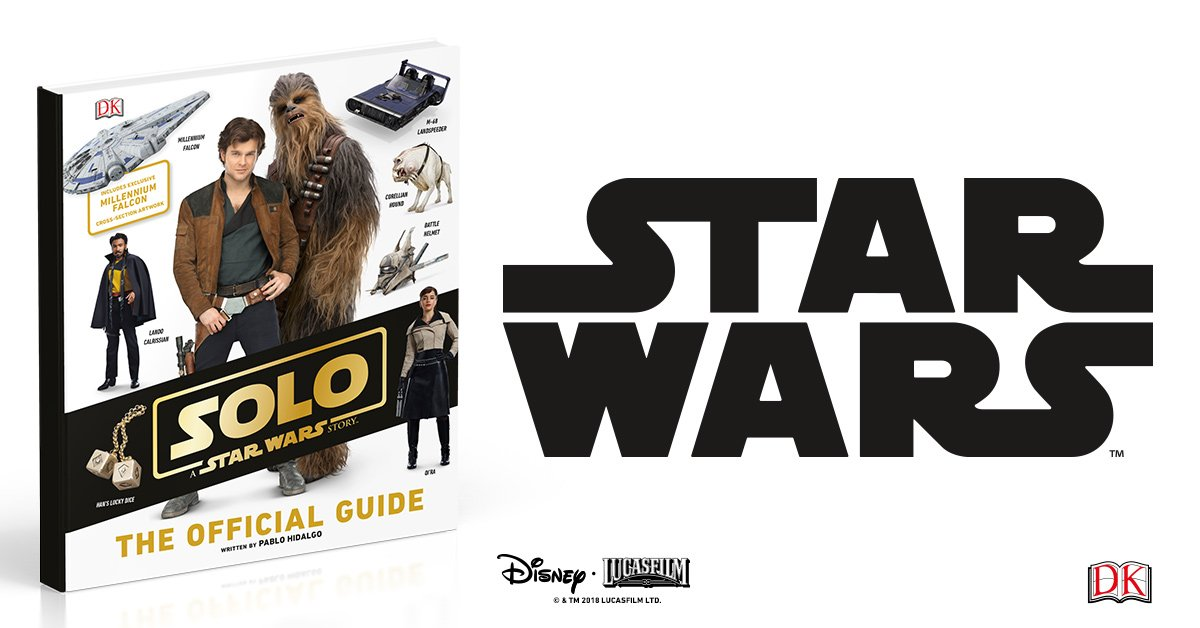 Great books for scoundrels. Preorder your copy of our #Solo: A @StarWars Story books today. bit.ly/2BvwQTX
