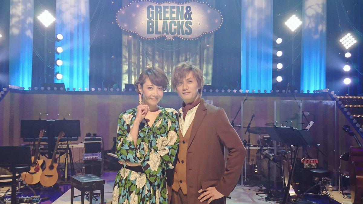 WOWOW グリーン&ブラックス、またまた出演させていただきます!今回はちえちゃんと歌ってきました♪