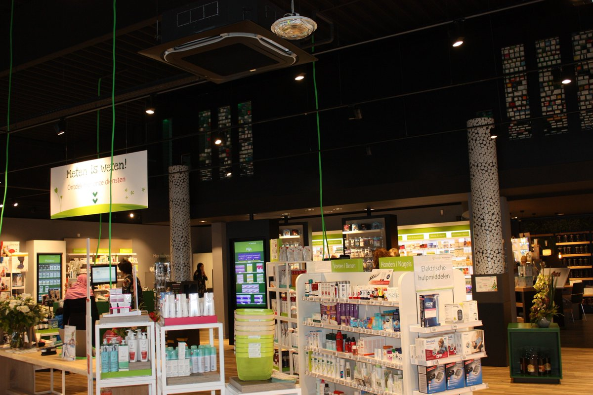 test Twitter Media - Great working with @Pharmactiv and @LloydsPharmacy on yet another successful project. Well done to all involved in the redesign of Pharmacie Noordelaan in Antwerp! We would like to wish Luc and Ilse all the best in the future! #CommercialFitout #Belgium https://t.co/uN5aGGC69l