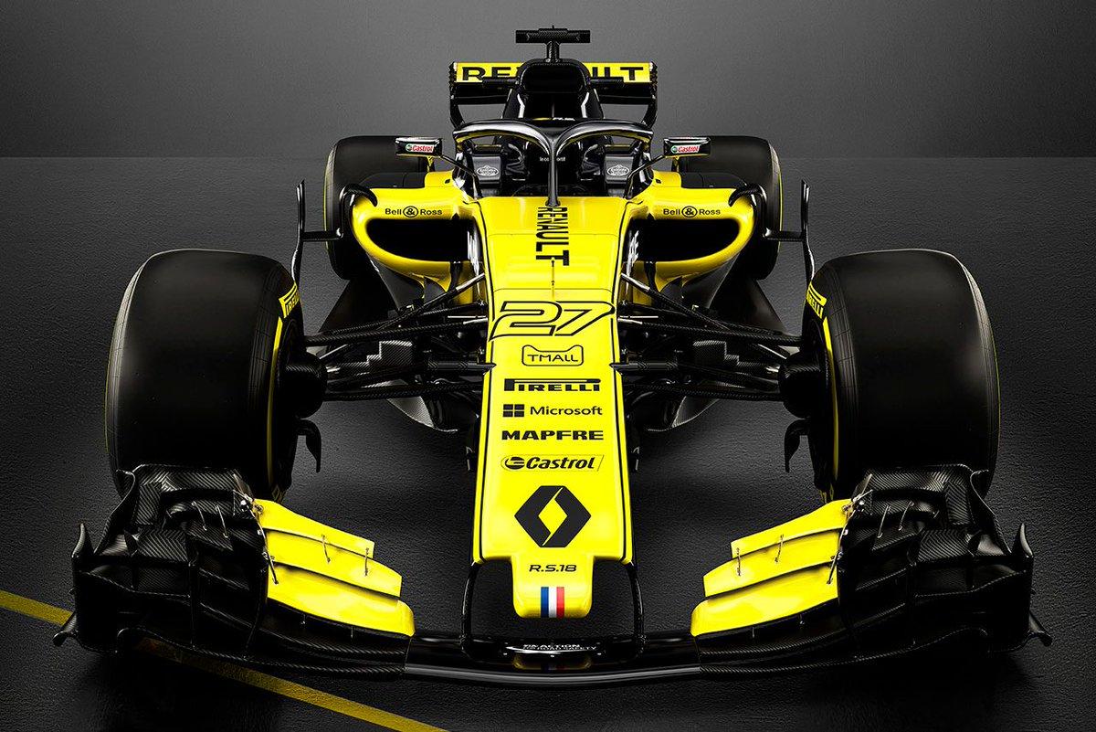 ワークス復帰から3年目となるルノーF1、新車『R.S.18』を正式発表 https://t.co/Mlj75vsk5q #F1 #2018F1新車発表 #f1jp #ルノー #ルノーRS18