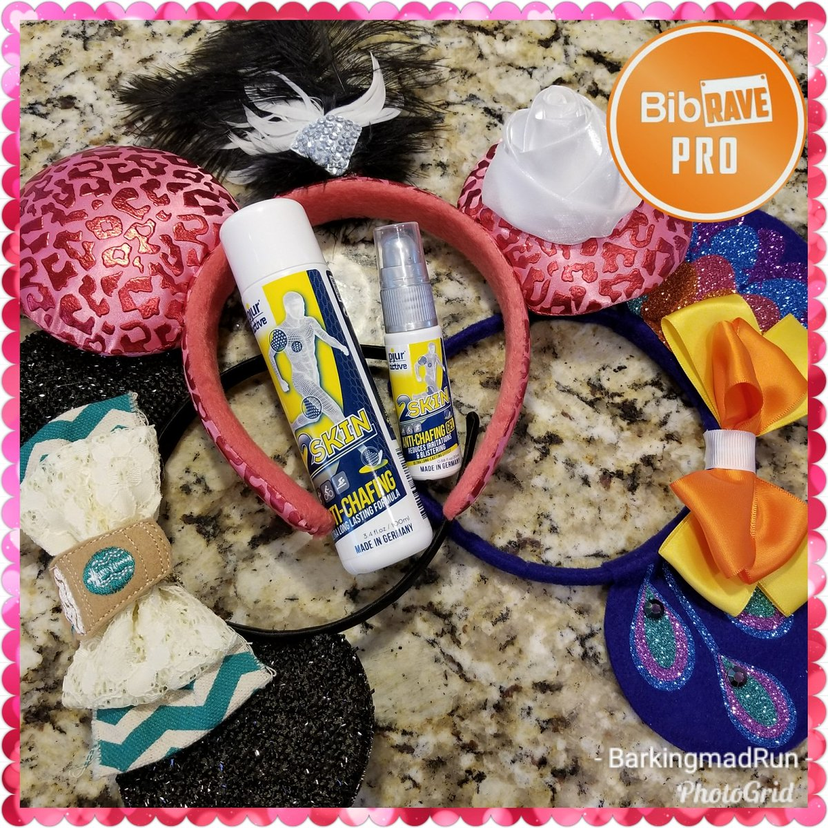 A hot race weekend in Disney calls for @pjuractive in the suitcase! No chafing, blisters, or #showerofdeath for this girl! #chafingisnotmagical #pjuractive2skin #pjuractive #2skin @BibRave #bibchat #bibravepro<br>http://pic.twitter.com/8D5QOdC28k