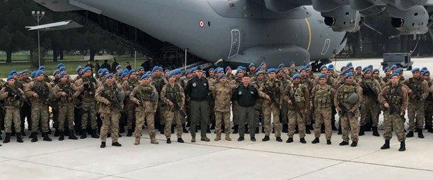 1200 mavi bereli komando Afrin'e gitti h...