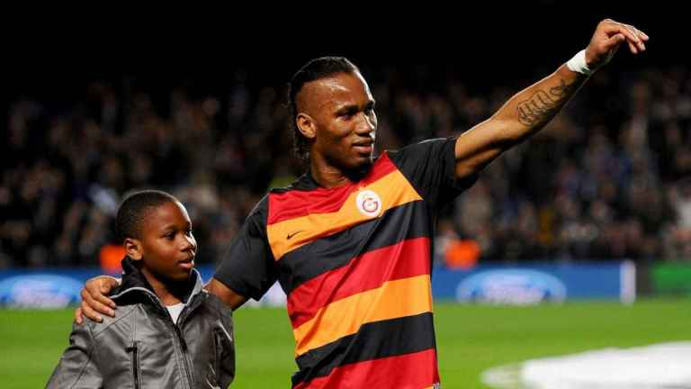 HOW DROGBA JNR. CELEBRATED FIRST GOAL