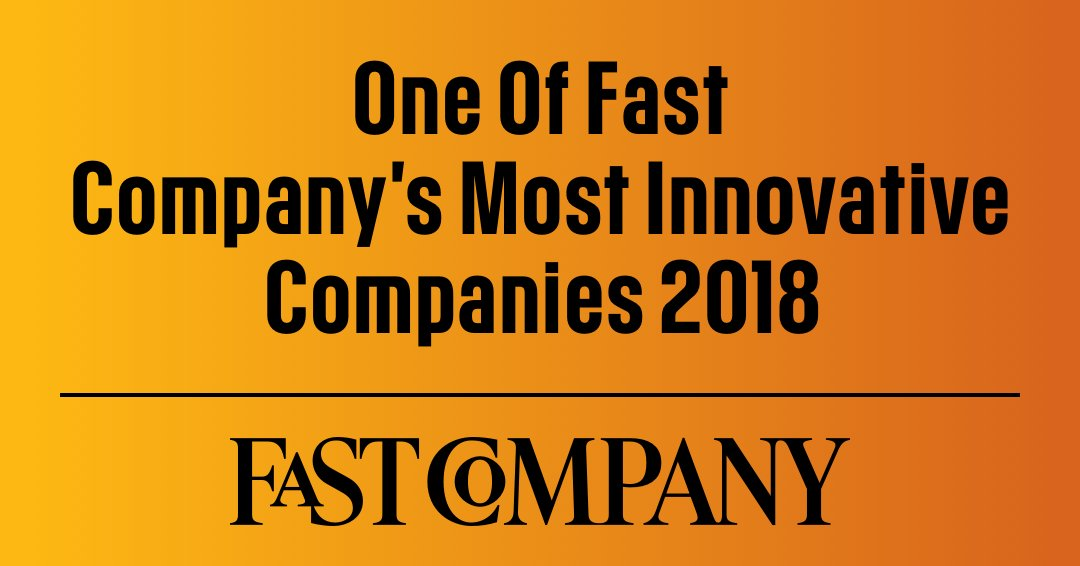 Congratulations to the entire BAMTECH Media team on being named one of the the Top 10 Most Innovative Companies in Video for 2018 by @FastCompany #FCMostInnovative