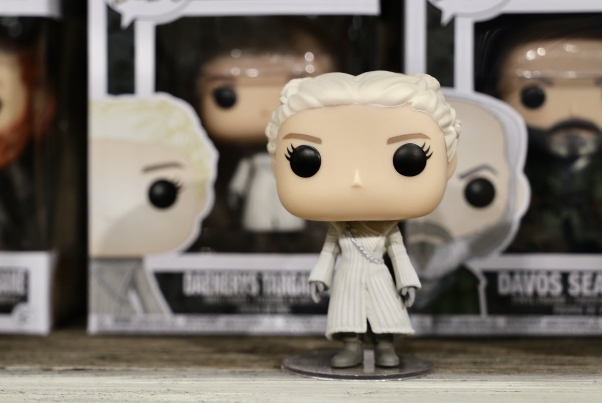 Break the wheel. Don't miss the Daenerys White Coat @OriginalFunko Pop! at #NYTF2018 booth #5305 in Hall C.