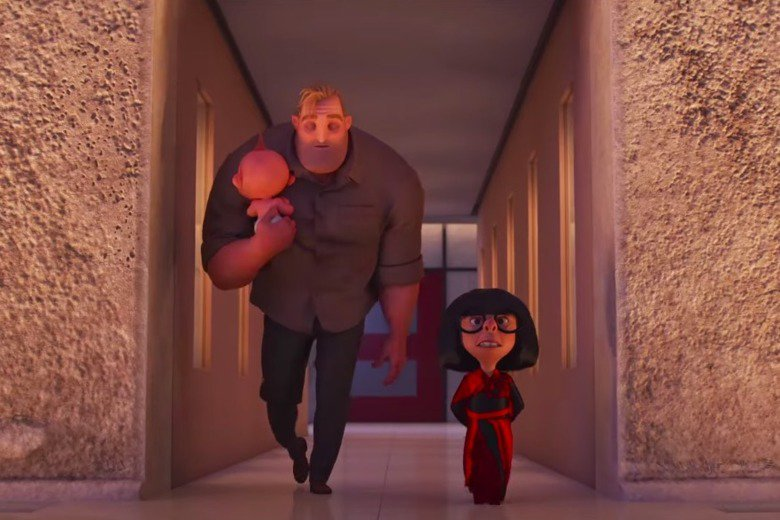 The new Incredibles 2 trailer shows off an incredible amount of new footage: https://t.co/EeE2JcnuY6