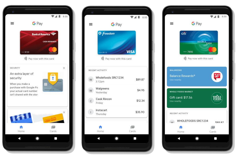 Android Pay, Google Wallet transition to Google Pay today https://t.co/en4pXrYbgJ
