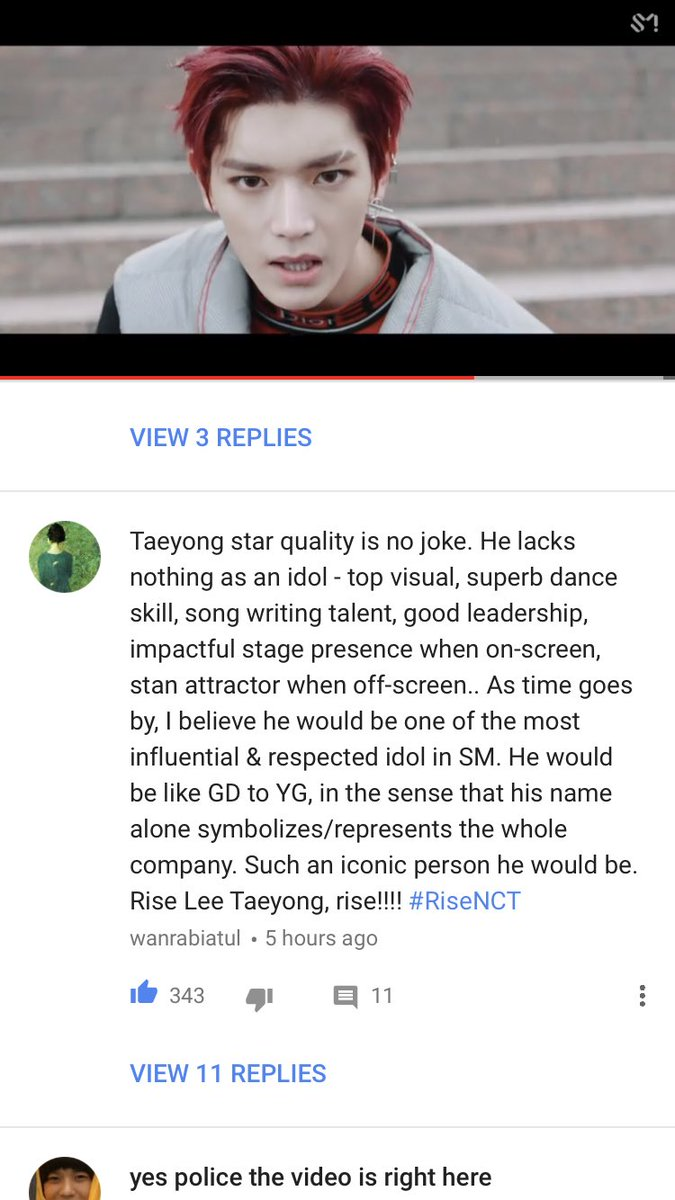This comment about Taeyong tho 💯 https:/...