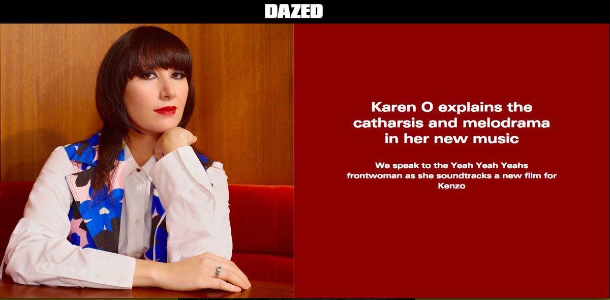 e934fa282 Up @Dazed http://www.dazeddigital.com/music/article/39115/1/karen-o-yo-my- saint-kenzo-interview … #YoMySaint @kenzo #film  #fashionpic.twitter.com/bx2eraX0Am
