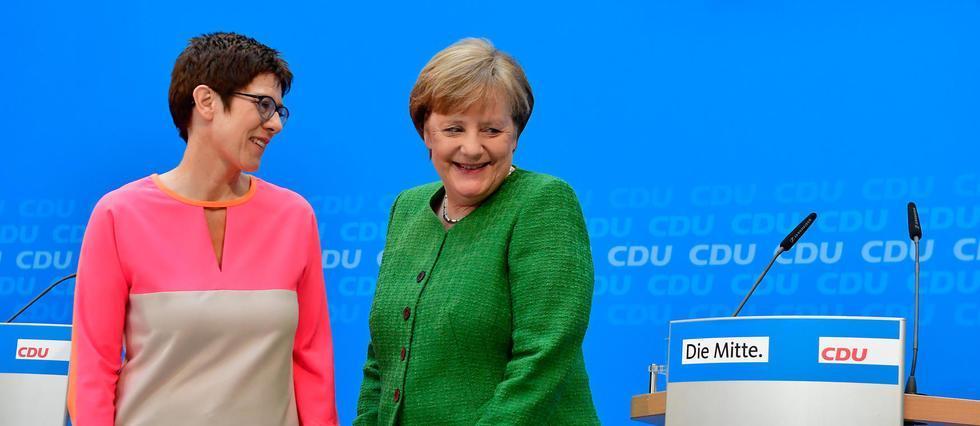 Allemagne: AKK, la dauphine surprise de #Merkel https://t.co/Vrz2ZS842c