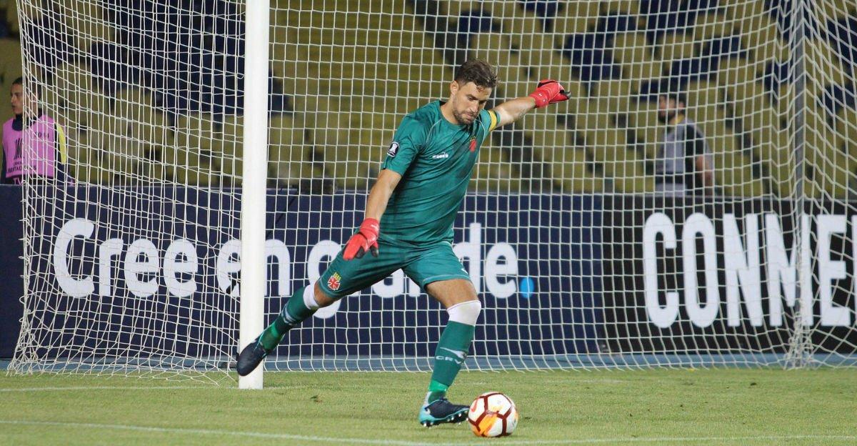 Conmebol multa Vasco em quase R$ 50 mil por cor do uniforme de Martín Silva https://t.co/zS90bmrt3A