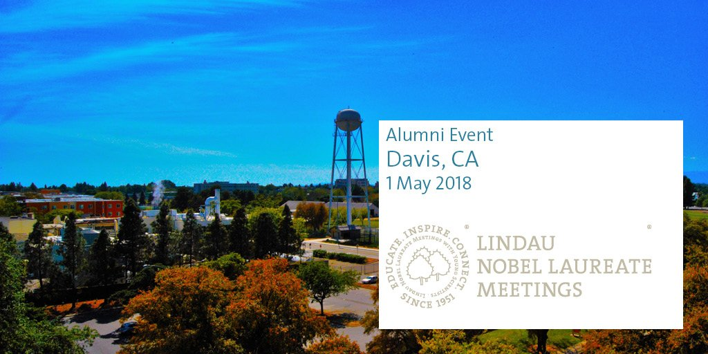 test Twitter Media - We invite Lindau Alumni to a reunion and the 2018 Forum on the Future of Food, Health and Nutrition, organized by our long-standing partner @MarsGlobal, at  @ucdavis on 1 May 2018. Lindau Alumni can contact us for more information. https://t.co/CA8u1jsN4x