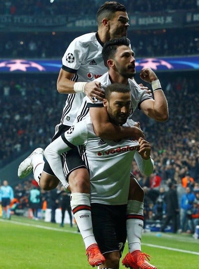 Cenk Tosun's photo on Besiktas