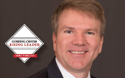 """""""Jay has been instrumental in unifying the family, enabling the business to grow into its next plateau."""" - Cliff Riegler, COO  Congratulations to our CFO, Jay Stautberg, on being named The Goering Center #RisingLeader for January."""