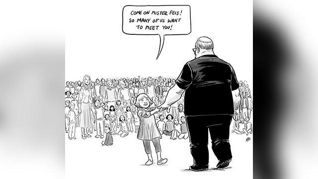 'Hero's Welcome': Cartoon captures school shootings' impact https://t.co/gvdiDJDo0q