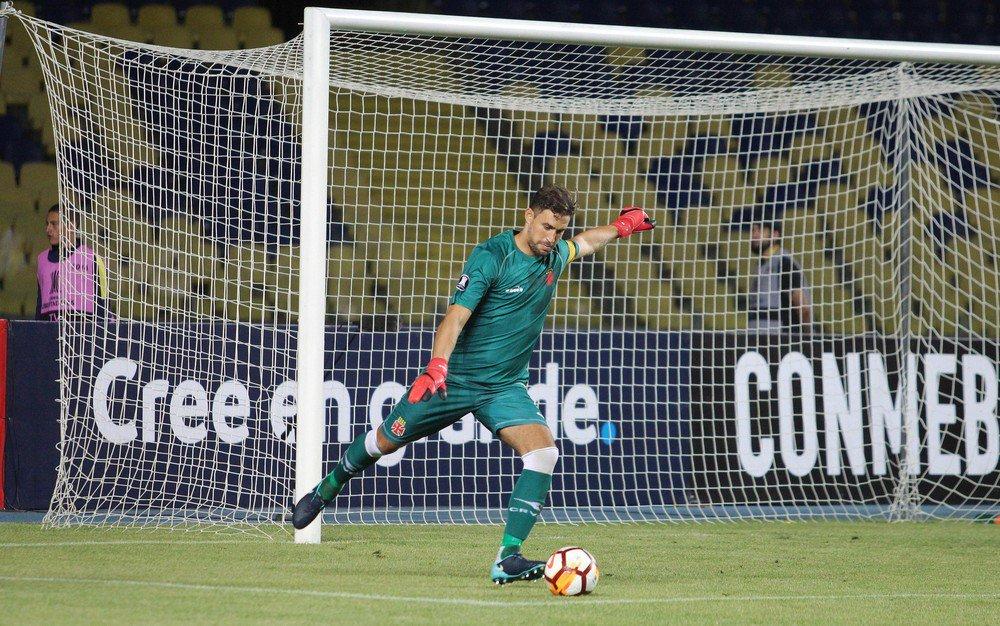 Conmebol multa Vasco em quase R$ 50 mil por cor do uniforme de Martín Silva: https://t.co/M38TerW46a  #SelecaoSporTV