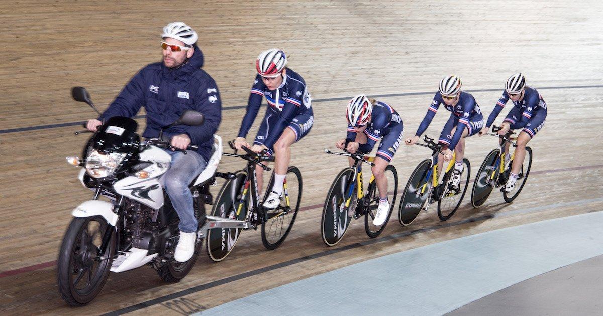 🔁 L'Équipe de France endurance est en stage de préparation cette semaine au @Stabvelodrome 🌈 : https://t.co/YNsftHPMaZ #Apeldoorn2018