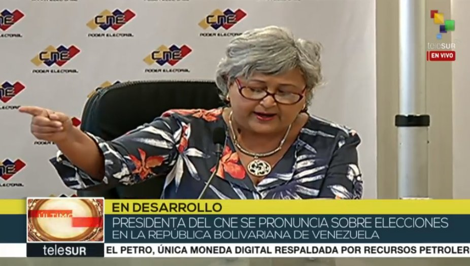 #Live | Tibisay Lucena: The election lottery will take place on March 15 as established by the Santo Domingo agreement.