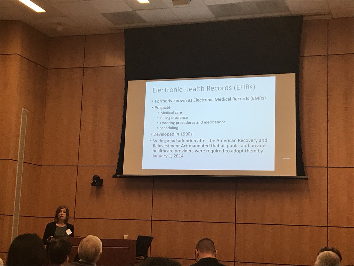 test Twitter Media - Speaking now is @MarylynRitchie of @UPennIBI on whether and how to use electronic health record data in research. #ESEHDWorkshop https://t.co/2cNUgsOTgK