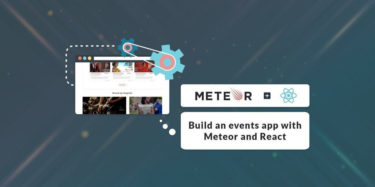 Building an Events App with #Meteor and #React https://t.co/k2WBe8sXrV