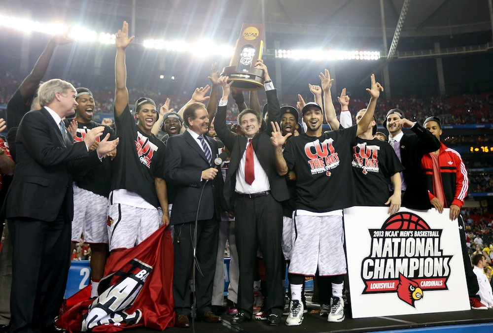 Breaking: NCAA vacates Louisville's men's basketball wins from 2011-15, including 2013 national championship https://t.co/Vr4TFHHvqs