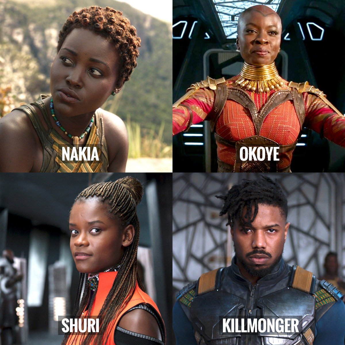 Which is your favorite new character from #BlackPanther?