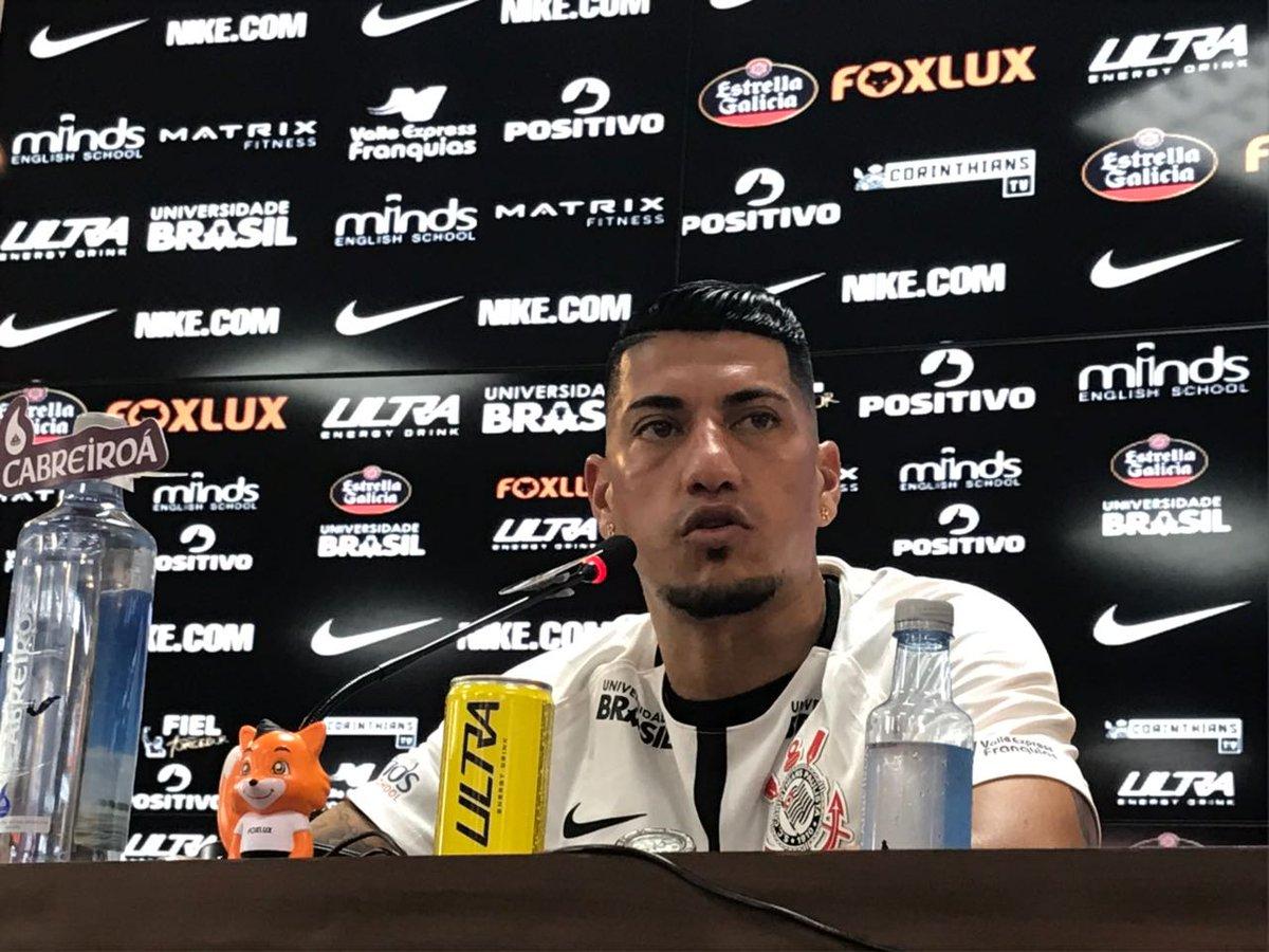 Mais Ralf para a #Fiel: 'Sempre é bom repatriar jogadores do Mundial, da Libertadores, são experientes. Mas todos tem de lutar pelo seu espaço, não é porque já ganhou que tem vaga. Temos de trabalhar, o Corinthians só tem a ganhar'  #VaiCorinthians #BemVindoRalf #CuidadoCãoBravo