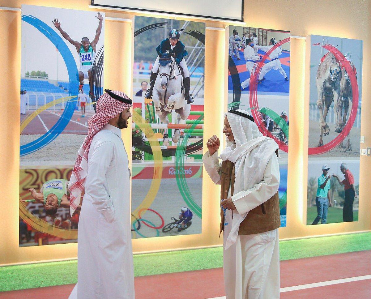 صور متنوعة من ركن  #الأولمبية_السعودية ب...