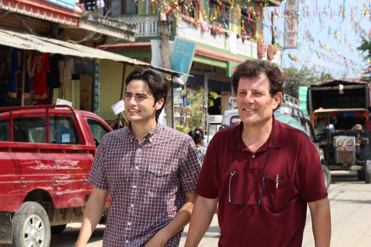 nick kristof win a trip essays 5 win a trip with nick kristof contest 6 references 7 external links life and career nicholas d kristof (who as of 2014 uses the simpler byline of nicholas kristof, without the middle initial d, as he explains online[citation needed]) was born in chicago, illinois, and grew up on a sheep and cherry.