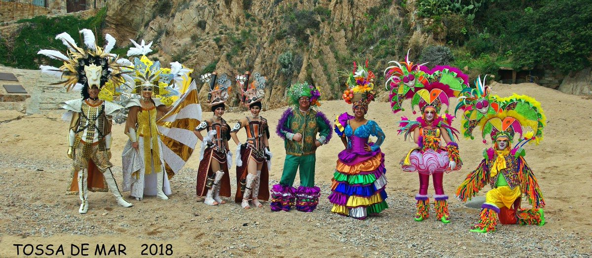 carnaval tossa de mar 2018