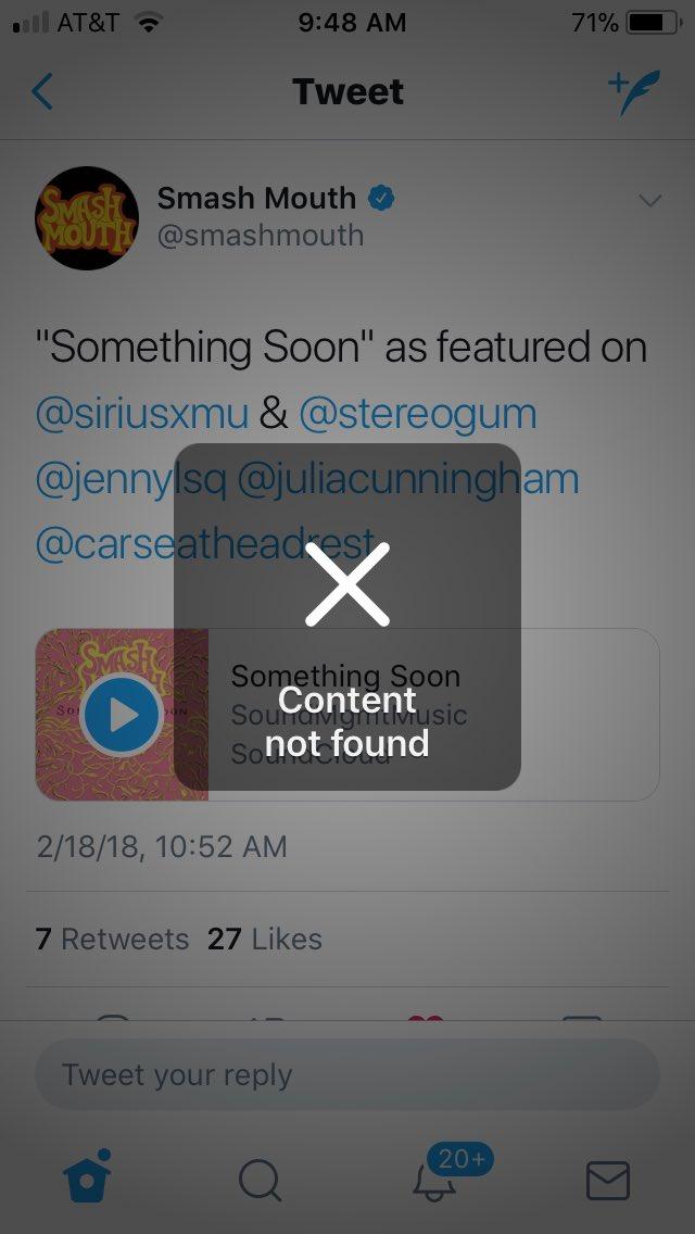 Smash Mouth On Twitter Something Soon As Featured Siriusxmu Stereogum Jennylsq Juliacunningham Carseatheadrest Tco QUWXPTx7Wi
