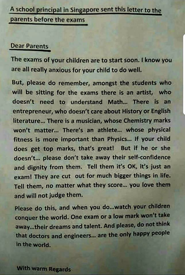A school on #Singapore is bang on the mo...