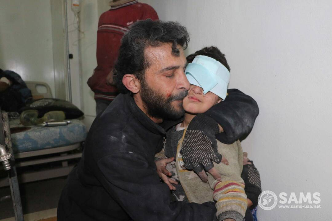 The past 48 hours in besieged #EastGhouta: 12 medical facilities attacked, 4 destroyed. Four medical workers killed, including three of our own staff. 250 civilians killed, at least 460 injured. Horrific, unacceptable and appalling. #SaveGhouta #NotATarget https://t.co/jilE8RKN3h