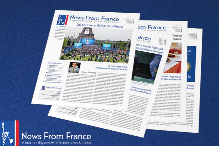 Want to get the latest news on French culture, current events and Embassy happenings? Sign up for our #NewsFromFrance e-newsletter! #France franceintheus.org/spip.php?artic…