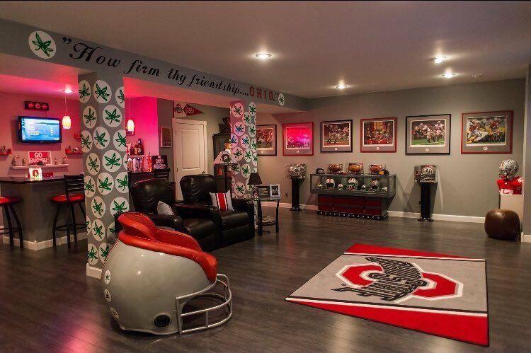 Ohio State Football Man Cave