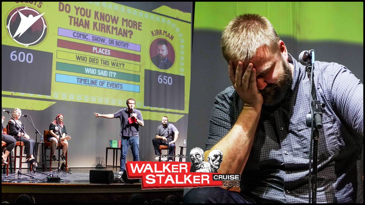 Watch @RobertKirkman's hilarious trivia...