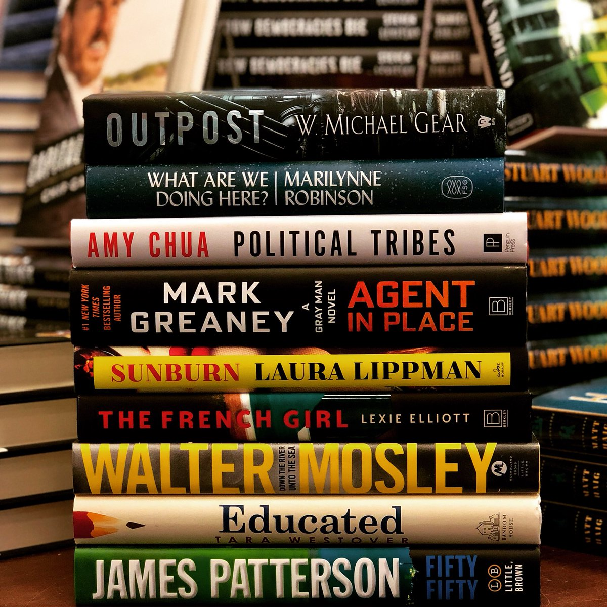 Happy #NewReleaseTuesday, bookworms! Here's a small sample of the books we're excited to tell you about this week. #BNStCloud