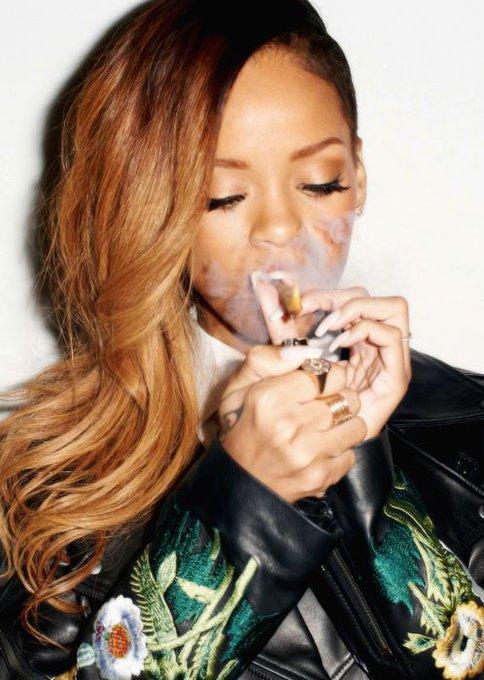 Happy birthday to cannabis queen Rihanna!