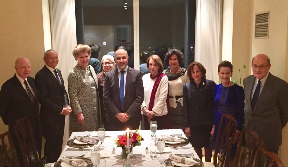 It was a pleasure to host an #Afghan dinner in honor of some native & well established New Yorkers who wished to experience Afghan hospitality. It was a memorable evening and we learned a lot from each other. #newyork #newyorkers #Afghanistan