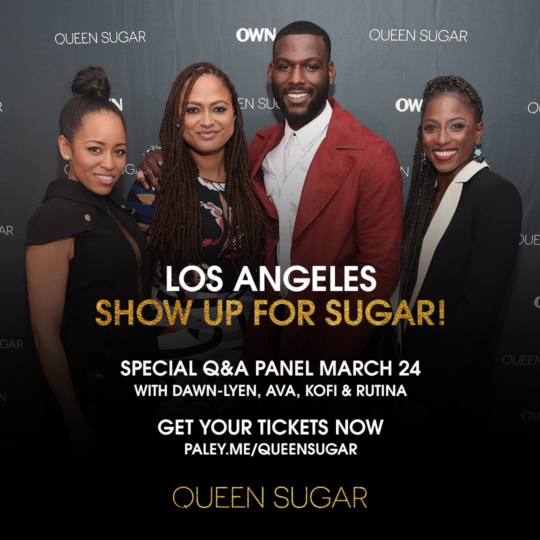 Los Angeles, show up for Sugar! Get your...