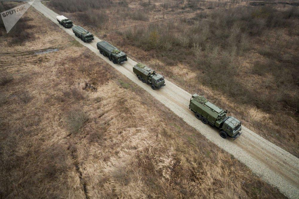 Rus ordusundan İskender-M füzeleriyle ta...