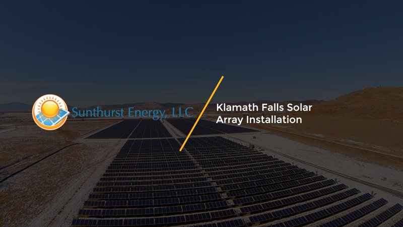 We filmed this #renewable #energy #solar #array installation on Oregon.  Video: https://t.co/nuruFHChQx