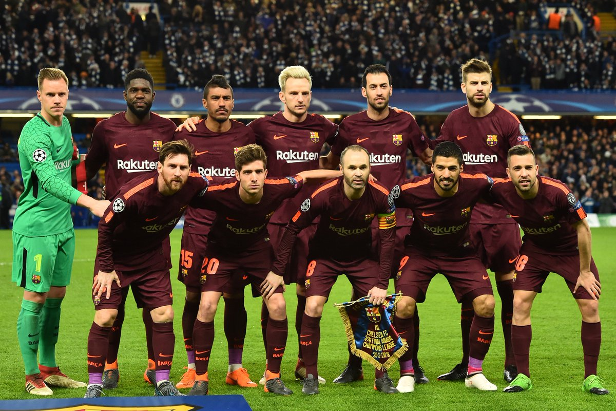 Barcelona in the Champions League 2018 - 2019 84