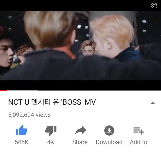 [!!!] #NCT_U_BOSS has finally reached 5M...