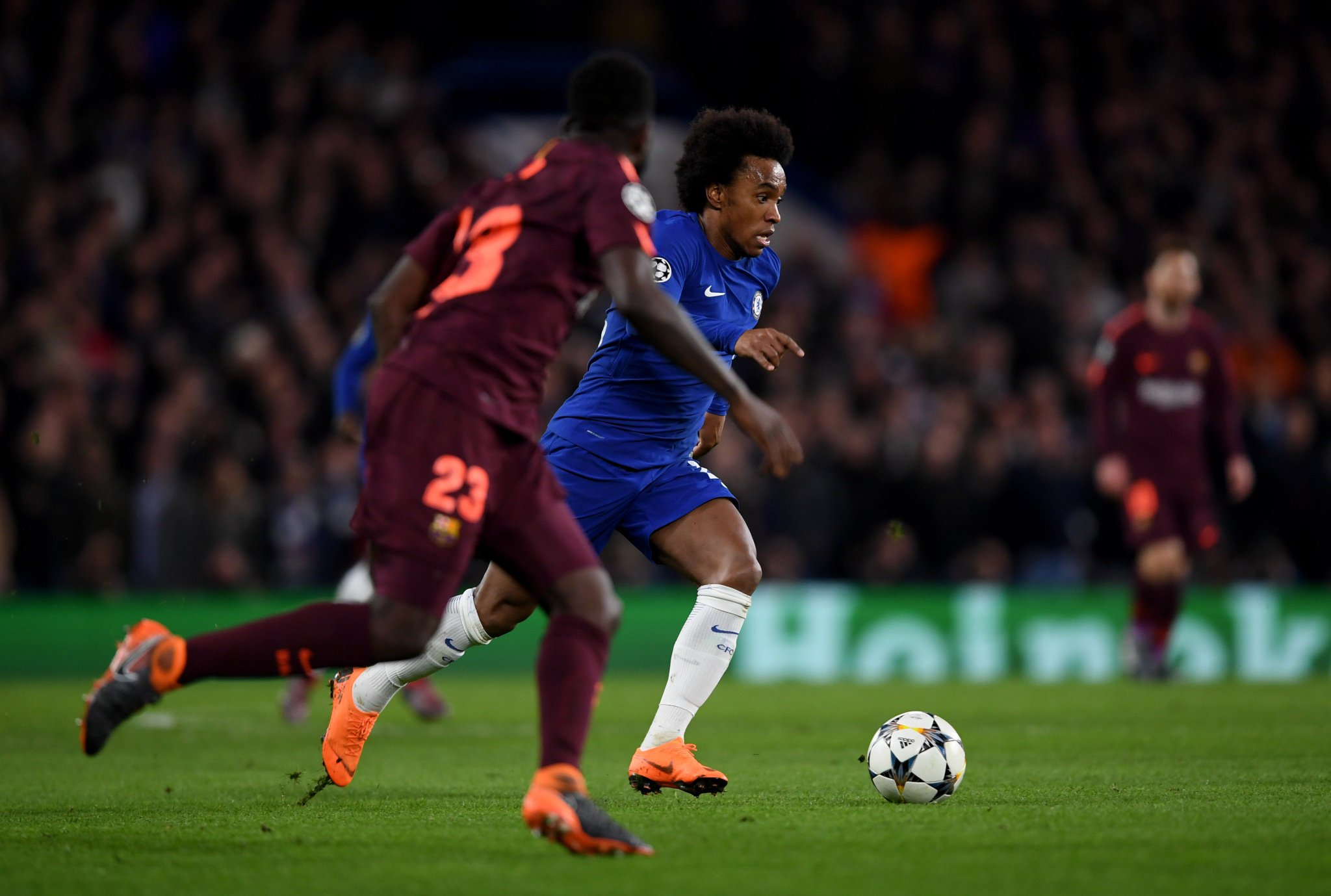 Chelsea FC vs FC Barcelona Highlights & Goals Video - Champions League - 20 February 2108