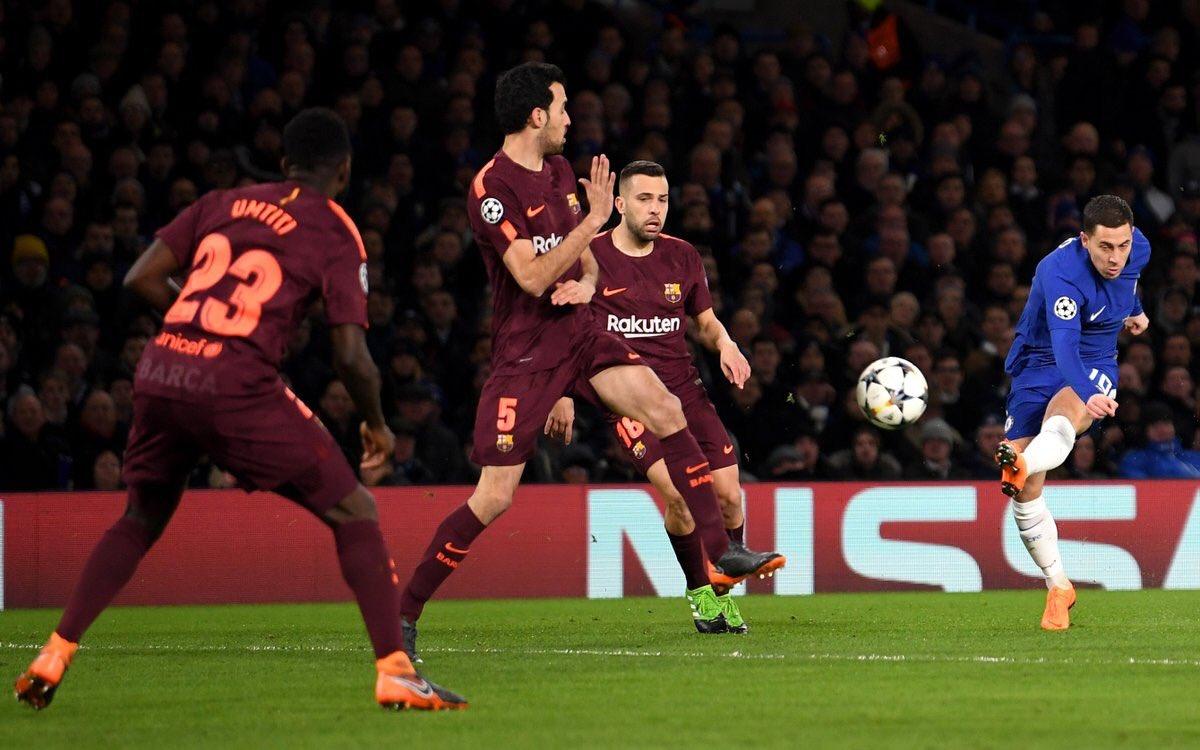 القائم يتعاطف مع برشلونة ويحرم تشيلسي من هدف التقدم