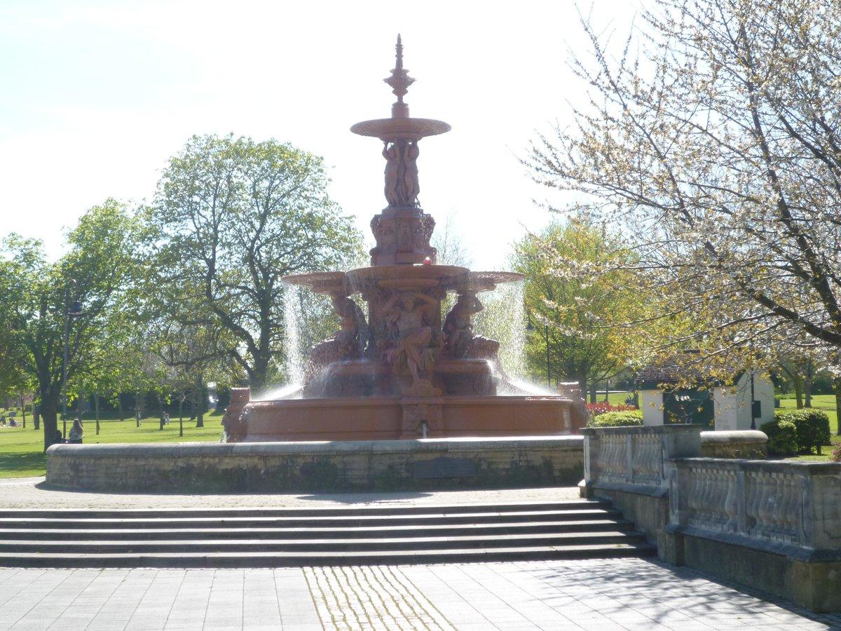 Hubert Fountain Victoria Park Ashford