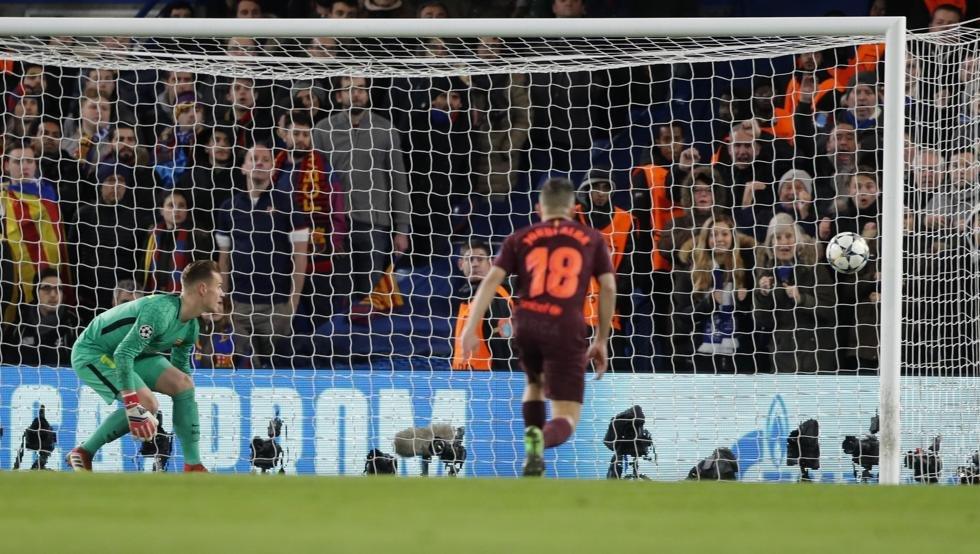 ماهذا الحظ يا برشلونة  القائم يحرم ويليان مرة أخرى من هدف