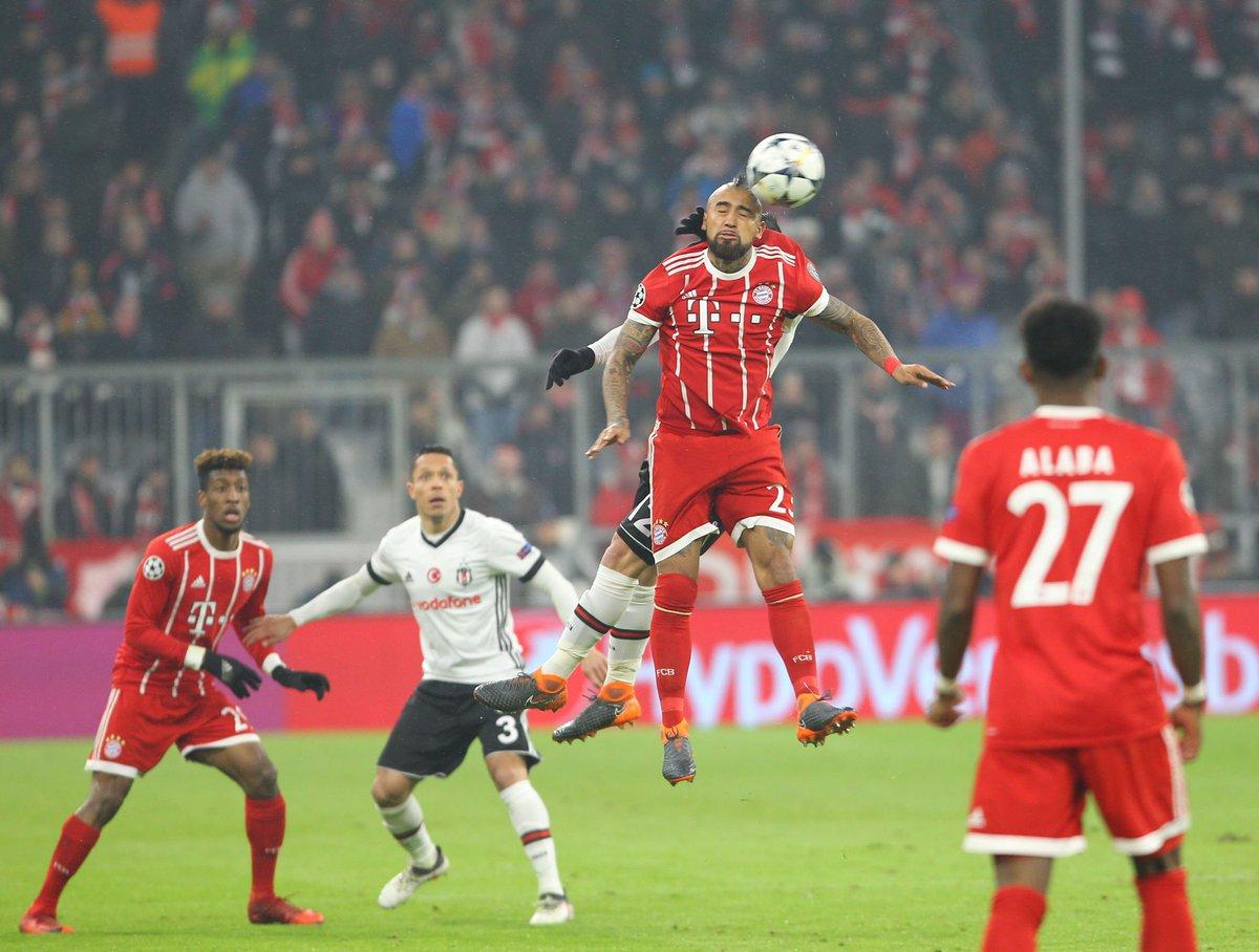 Bayern Münih-Beşiktaş maçında 2.yarı baş...