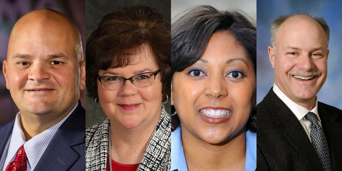 The Samuel K. Gove Illinois Legislative Internship Hall of Fame at #UISedu will honor four individuals for their contributions to Illinois and its citizens. Mark Denzler, Marcilene Dutton, DeShana Forney and David Joens will be honored on March 12. https://t.co/hsVGde5LyK #twill https://t.co/zU6Jv8Giu2
